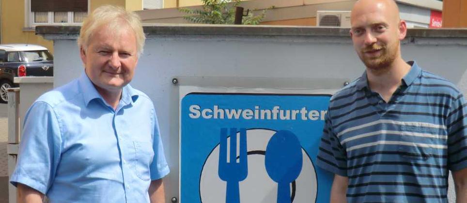 Zusammenarbeit mit Schweinfurter Kindertafel e.V.