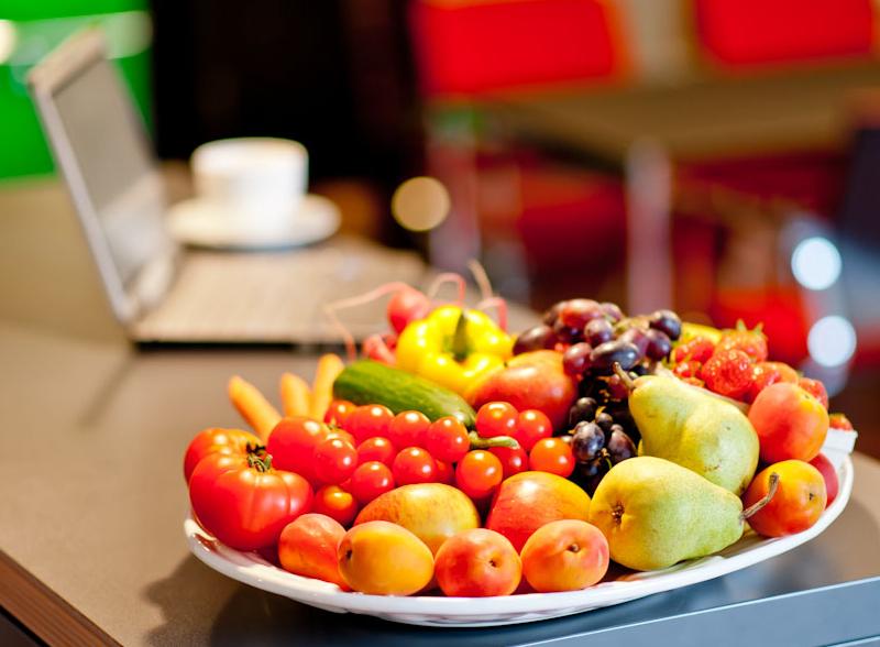 Gesunde Ernährung am Arbeitsplatz ist ganz einfach!