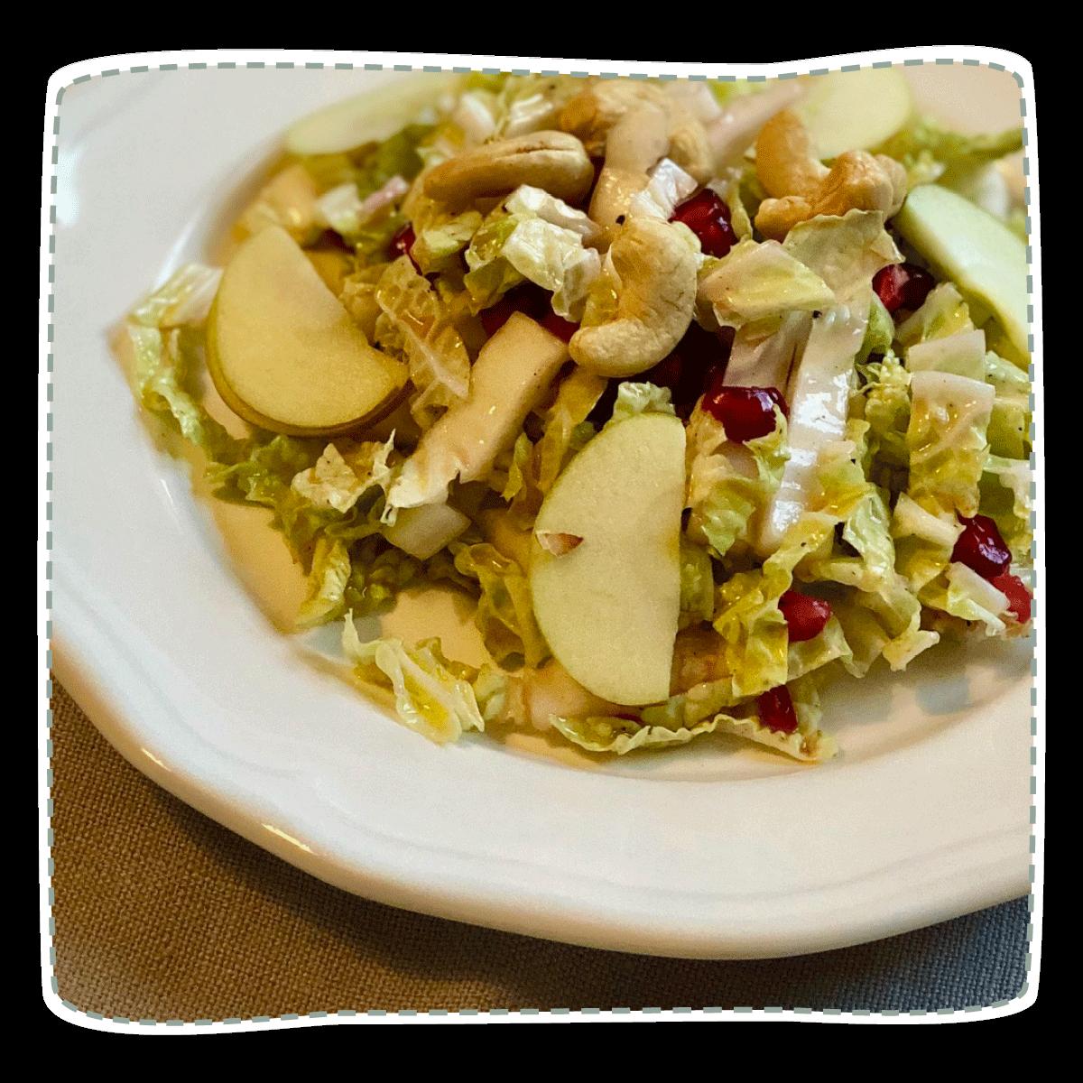 Chinakohl-Granatapfel Salat